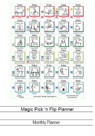 Magic Pick 'n Flip - three different games can be created from   these activity pictures;